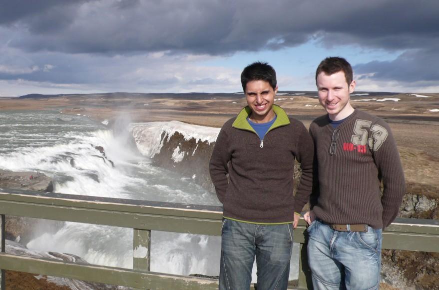 Naz and Matt in Iceland in 2008 to celebrate Matt's 30th Birthday
