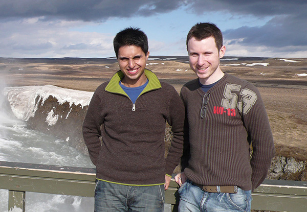 Naz and Matt in Iceland - 2008