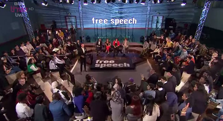 "BBC's Free Speech - live debate - ""Can you be gay and muslim""?"