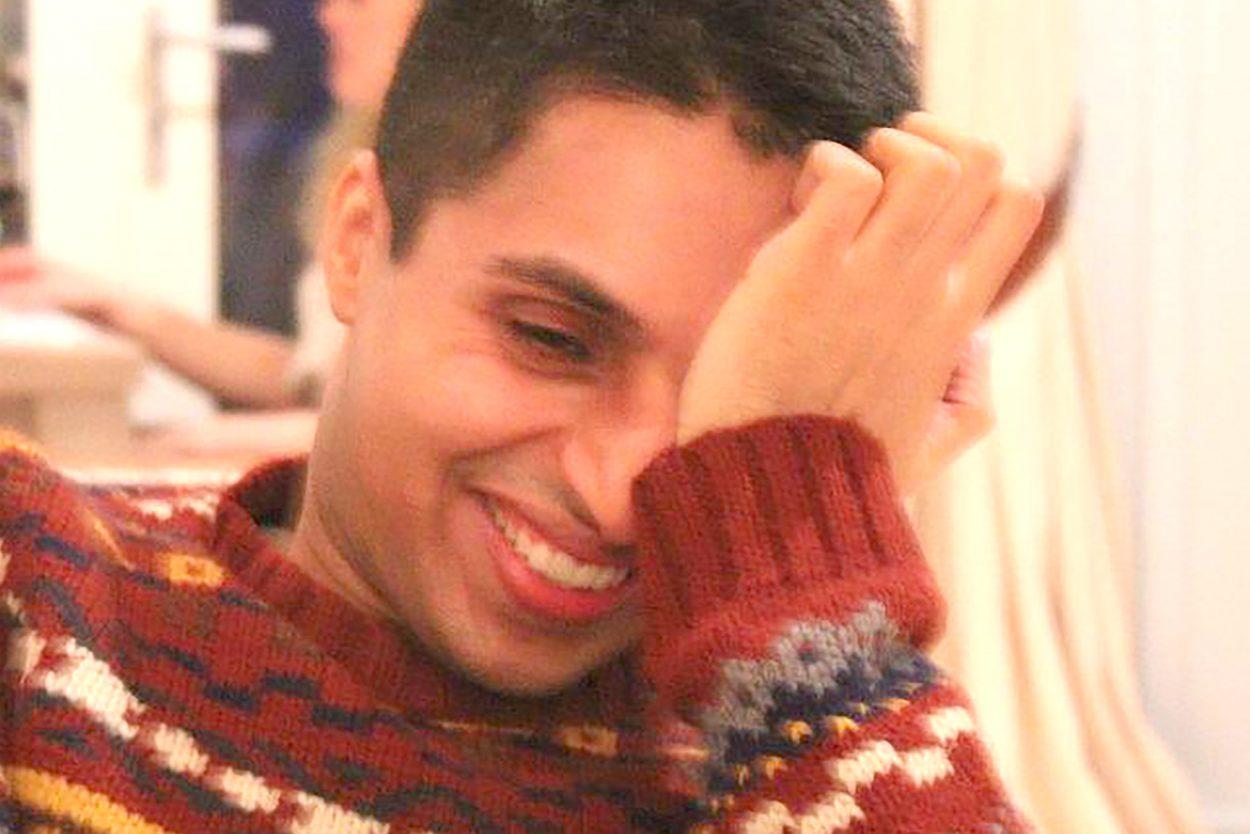 Naz (Dr Nazim Mahmood) laughing