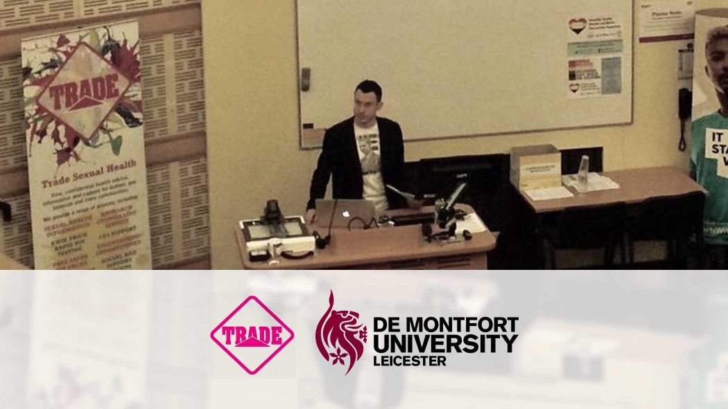 Matt gives talk at De Montfort University Leicester, November 2016