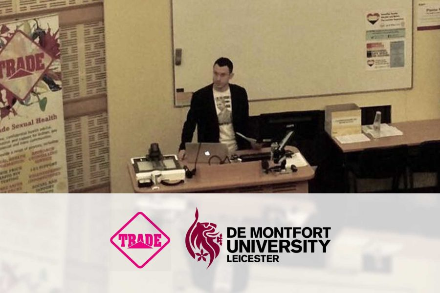 Matt gives talk at De Montfort University Leicester, November 2016