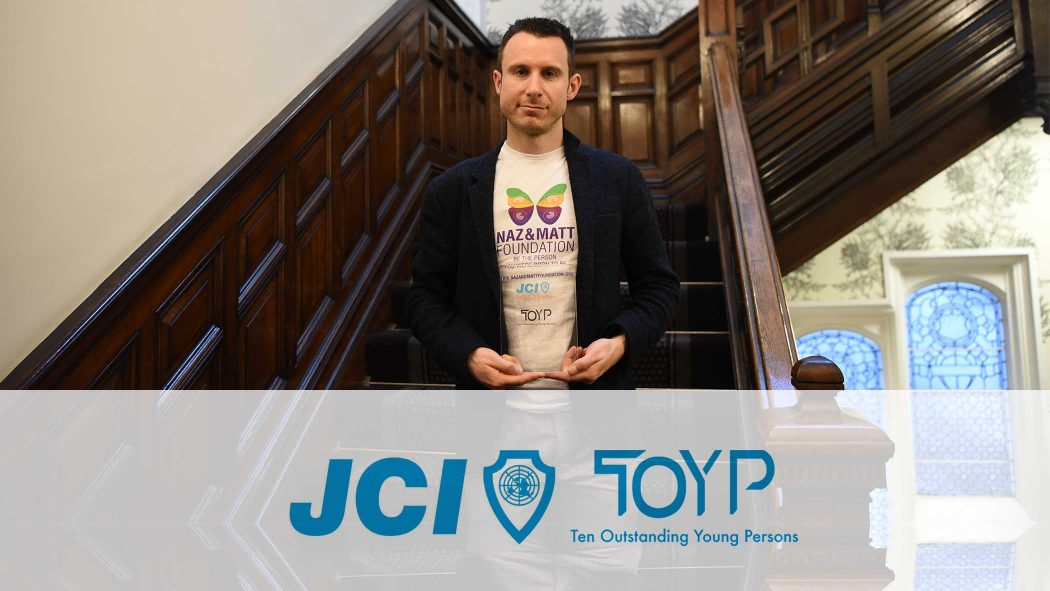 JCI Ten Outstanding Young Persons Award 2016