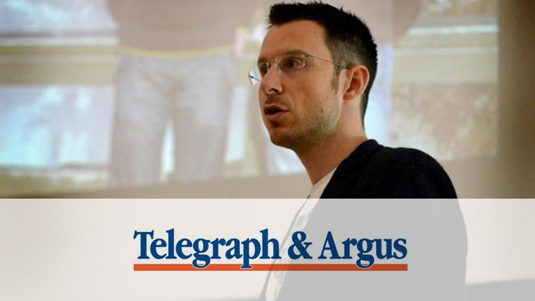 Telegraph and Argus Interview, Bradford Schools Tour October 2016