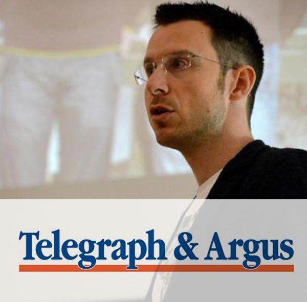 Telegraph and Argus Interview, Bradford Schools Tour October 2016