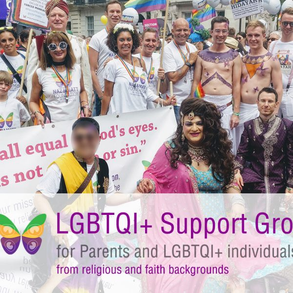 Support group for Parents and LGBTQI+ individuals