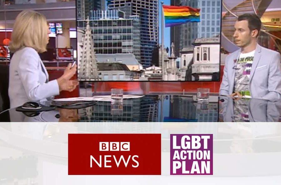 BBC News 24 - LGBT Action - Ban Gay Conversion Therapy