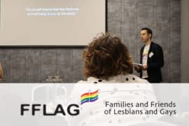 Matt speaks at FFLAG's 25 year anniversary Event in Manchester
