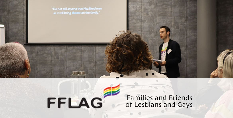 Matt speaks at FFLAG's 25 year anniversary Event in Manchester