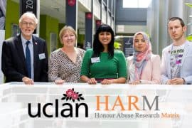 HARM Launch - Honour Abuse Research Matrix - University of Central Lancashire