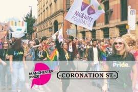 Manchester Pride - Coronation Street