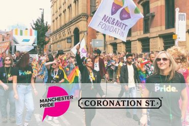 Foundation joins Coronation Street for Manchester Pride