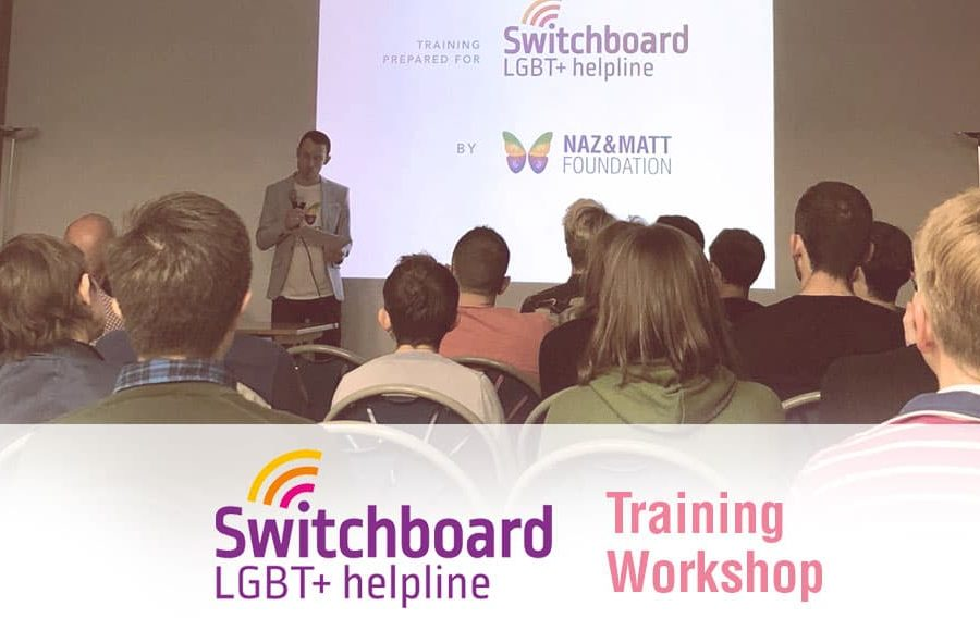 Switchboard.LGBT Training Workshop - Religious Homophobia