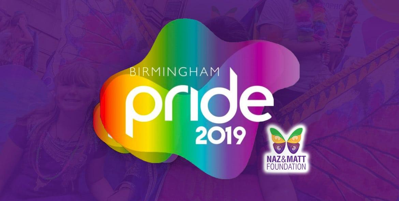 Birmingham Pride 2019 logo