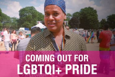 Coming out for LGBTQI+ Pride - Croydon