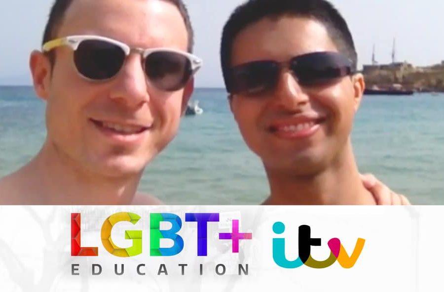 ITV News - LGBT Schools Row - Naz and Matt Foundation