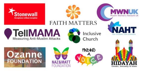 Joint letter with Stonewall, Tell Mama, Muslim Women's Network UK