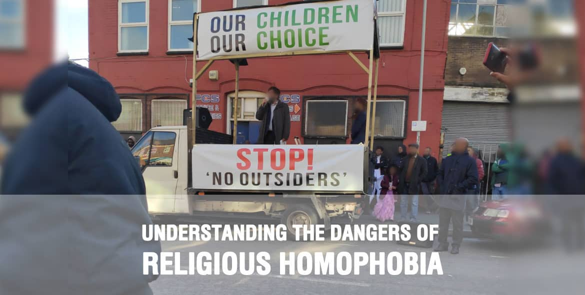 Our Response to Homophobic Protests Outside Parkfield
