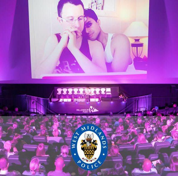 Matt speaking at West Midlands Police Conference, July 2019
