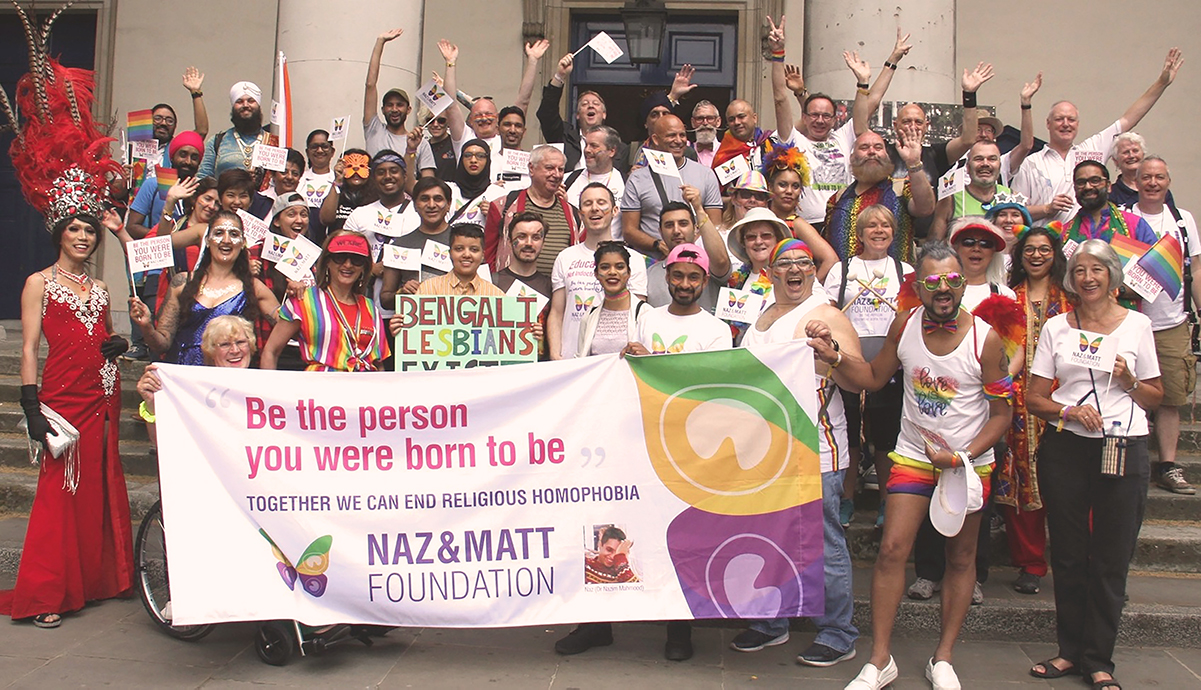 Naz and Matt Foundation and Pride in London 2019