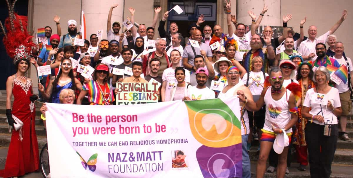 Naz and Matt Foundation - Pride in London 2019