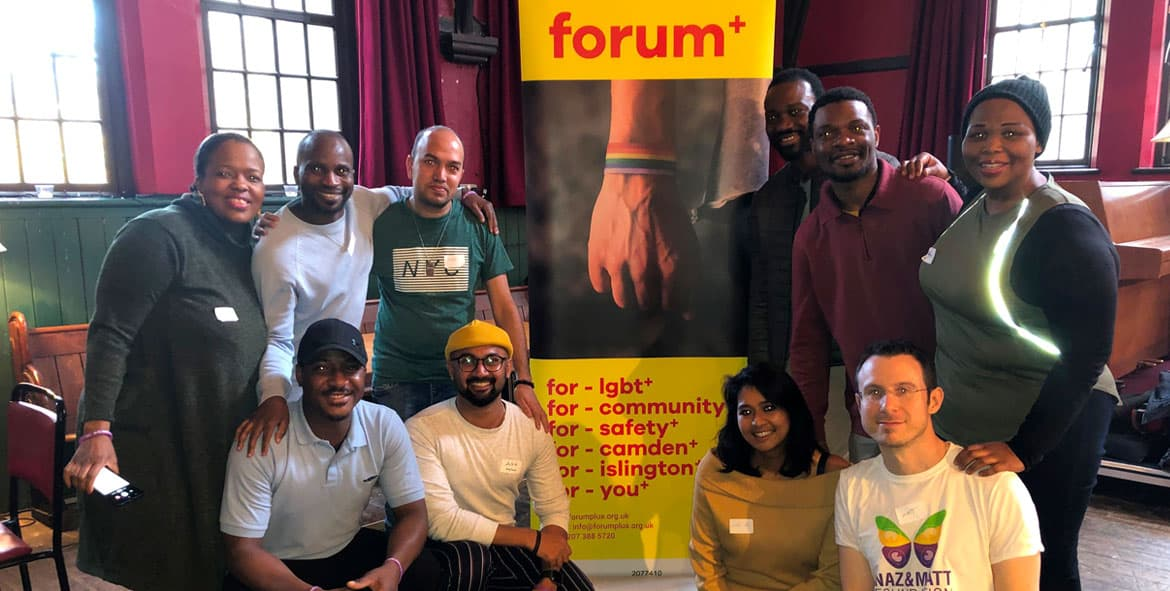 Forum+ LGBT Drop In - Camden, Islington - Say it Loud Club