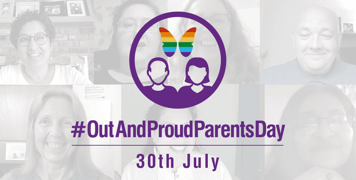 Out And Proud Parents Day - 30th July - Naz and Matt Foundation