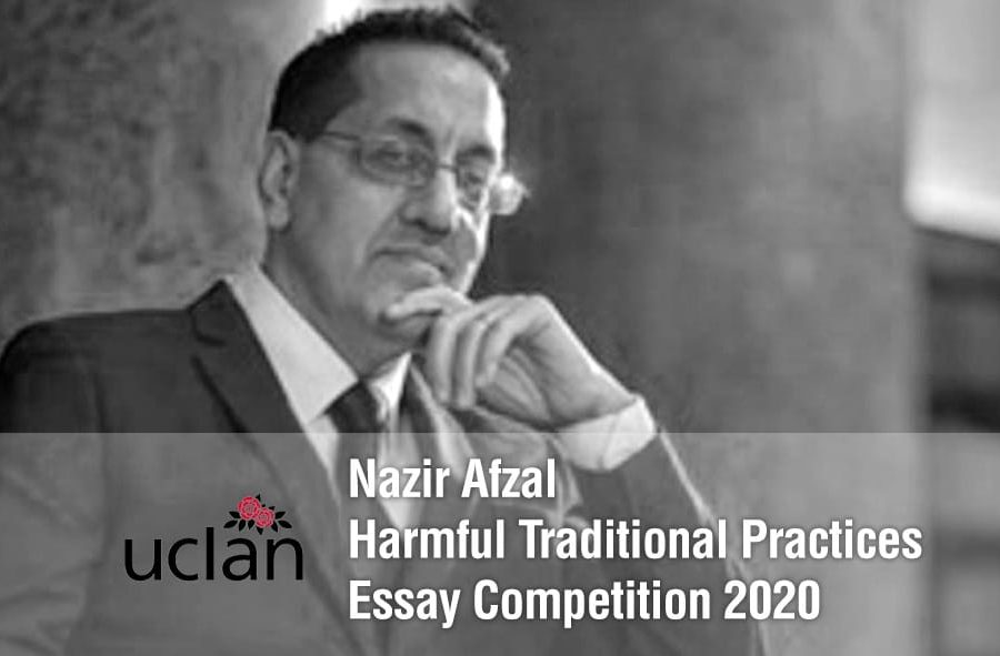 The Nazir Afzal Essay Competition 2020