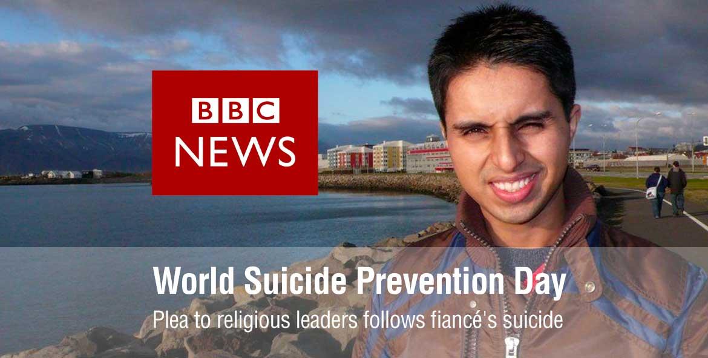 Plea to religious leaders follows fiancé's suicide - World Suicide Prevention Day
