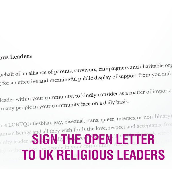 World Suicide Prevention Day 2021 - Open Letter to Religious Leaders