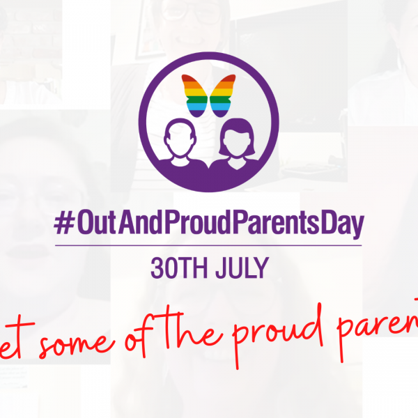 Meet some of the proud parents for OutAndProudParentsDay 2020