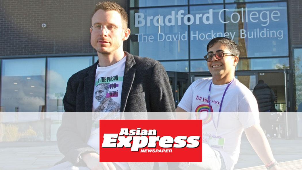 Asian Express Interview, Bradford Schools Tour October 2016