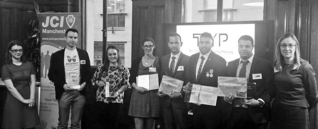 JCI TOYP Award Winners 2016, Manchester
