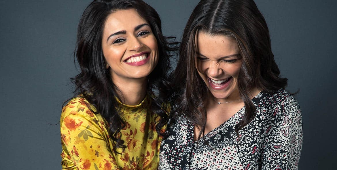 Bhavna Limbachia and Faye Brookes - Coronation Street #kana