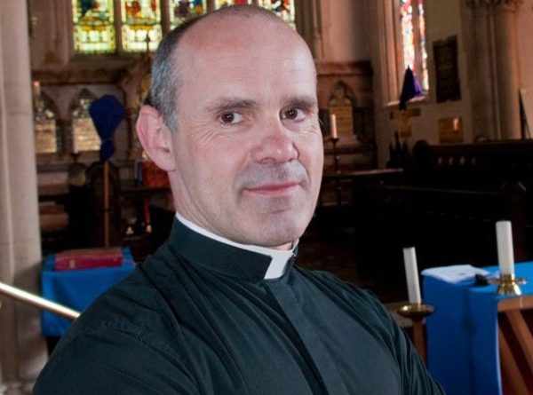 Father Andrew Cain. Picture: Nigel Sutton