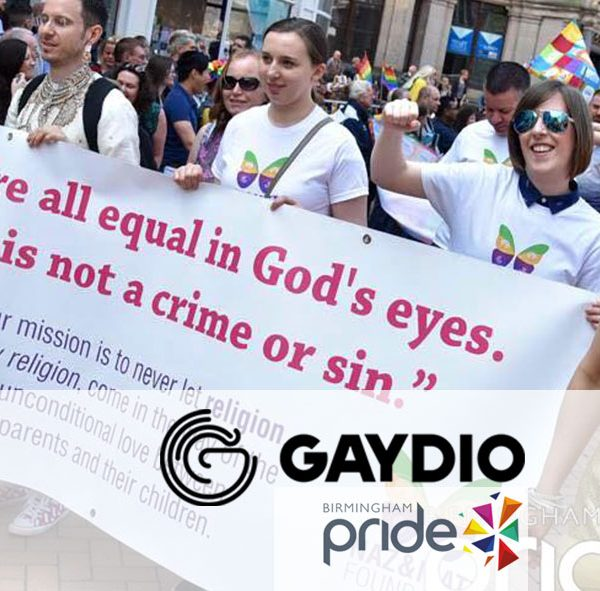 Gaydios Emma Interviews Matt for Birmingham Pride 2016