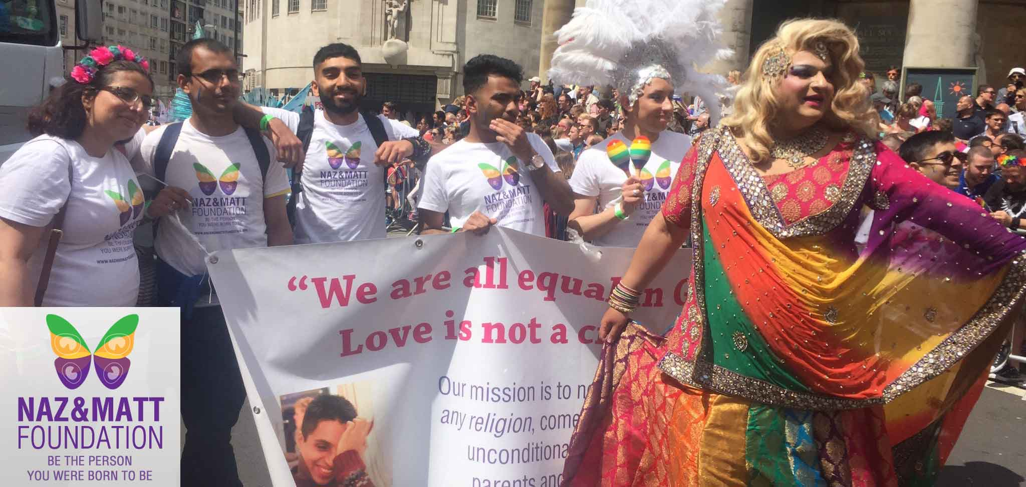 London Pride 2017 - Group shot