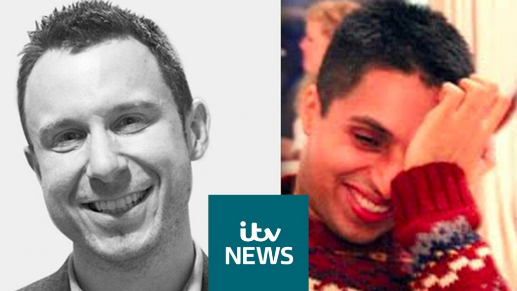 ITV - Fiancé tells how he nearly killed himself to join 'soulmate'