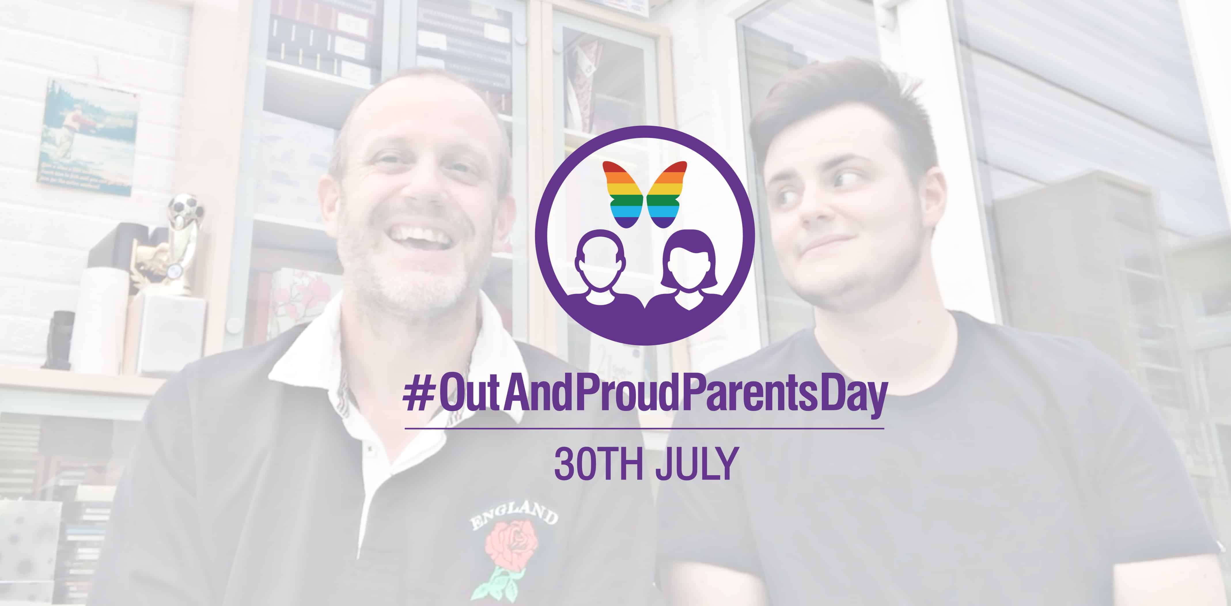 Out and Proud Parents Day - John and Alec