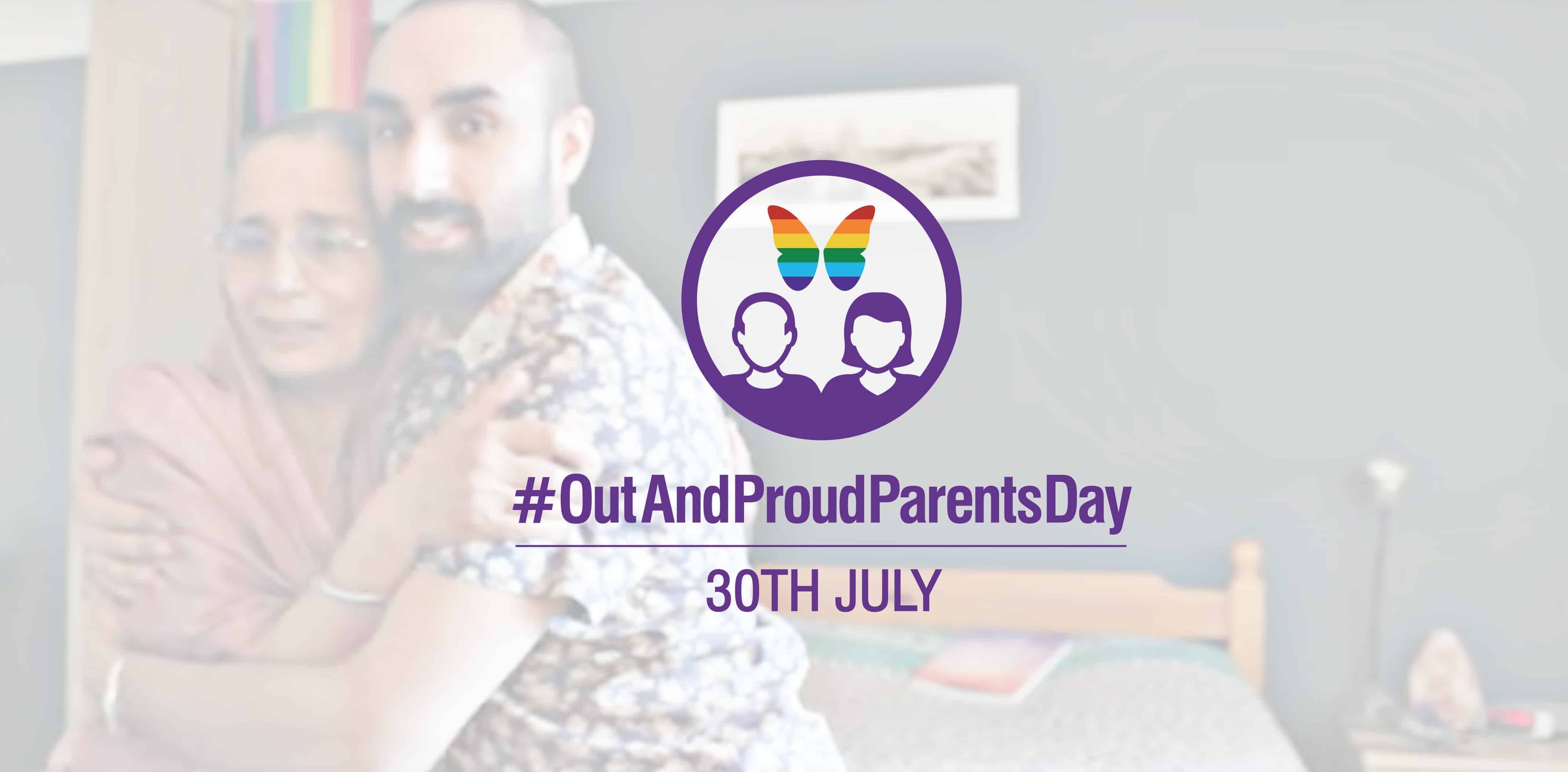Out and Proud Parents Day - Manjinder and Mum
