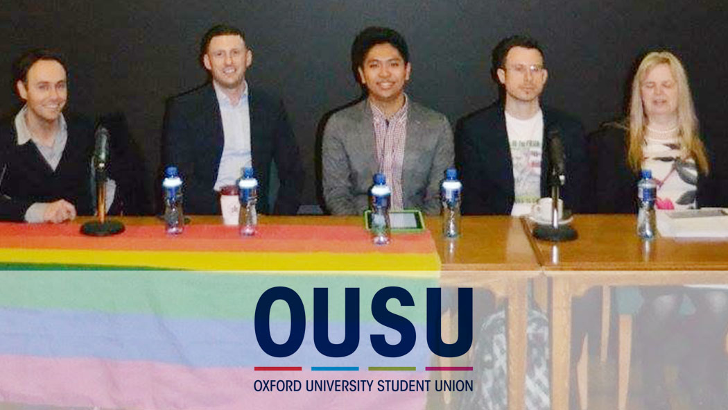 Oxford University Students Union - Panel Debate