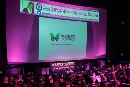 Naz and Matt Foundation speaks at the West Midlands Police Forced Marriage conference 2019