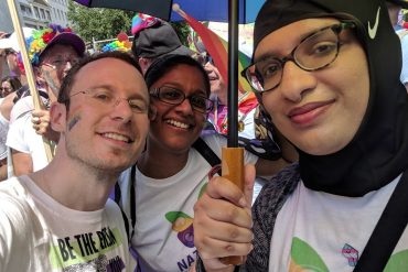 Pride In London: 48 Volunteers march with Naz and Matt Foundation